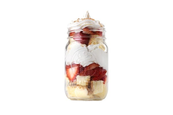 Strawberry Cheesecake Jar Dessert