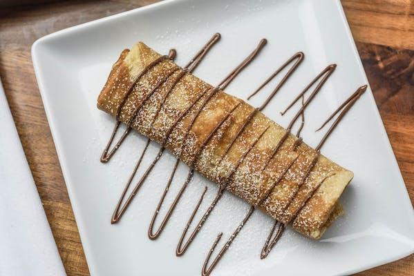 Kid's Nutella or Chocolate Crêpe
