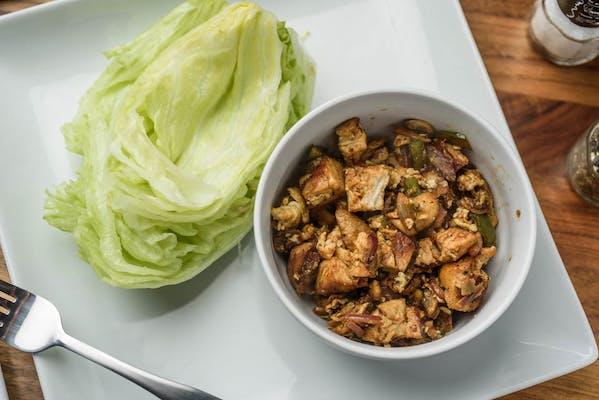 Singaporean Lettuce Wrap