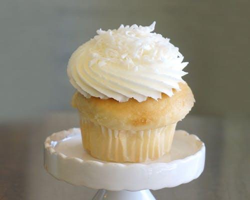 Coconut Cream Cupcake