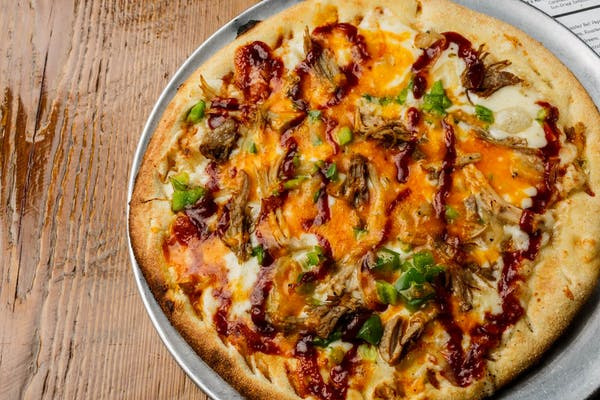 Porky's Revenge Specialty Pizza