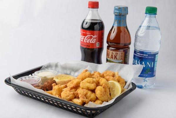 Shrimp Plate Coca-Cola Combo