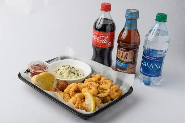 Shrimp & Catfish Plate Coca-Cola Combo