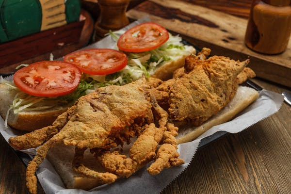 Soft-Shell Crab Po-Boy