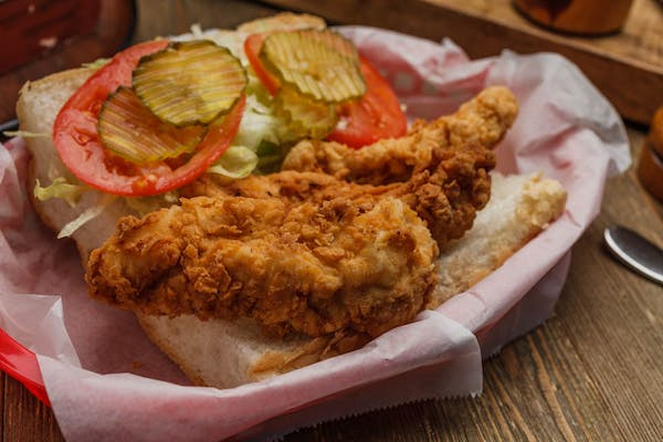 Chicken Po-Boy