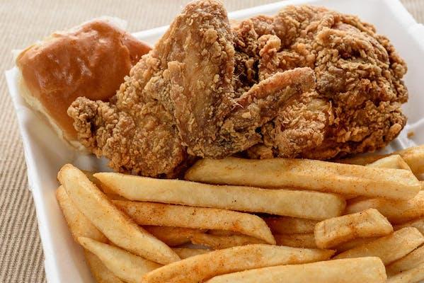 (2 pc.) White or Dark Chicken Dinner