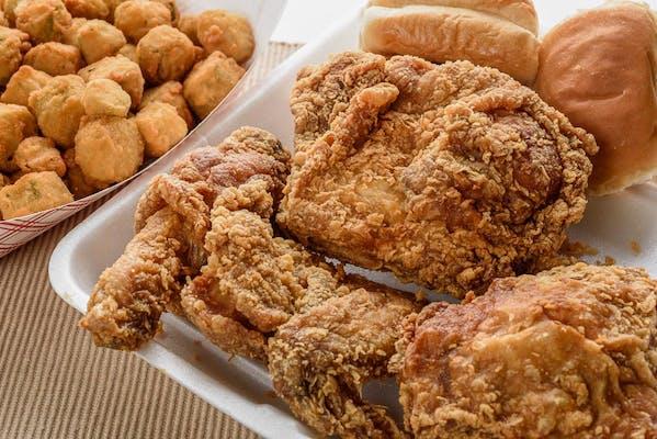 (4 pc.) Mixed Chicken Dinner