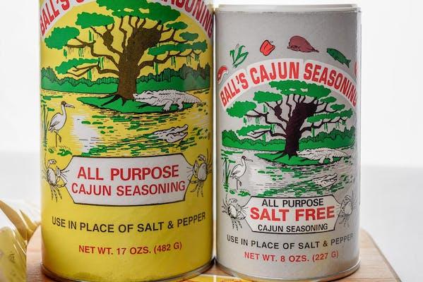Ball's Salt-Free Cajun Seasoning