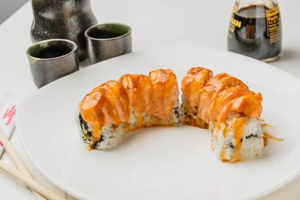 Sr32. Baked Salmon Roll