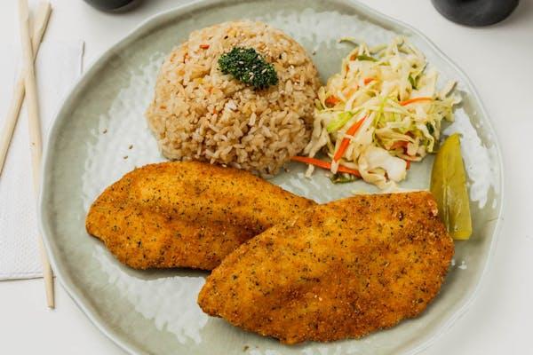 L9. Fried Tilapia Combo