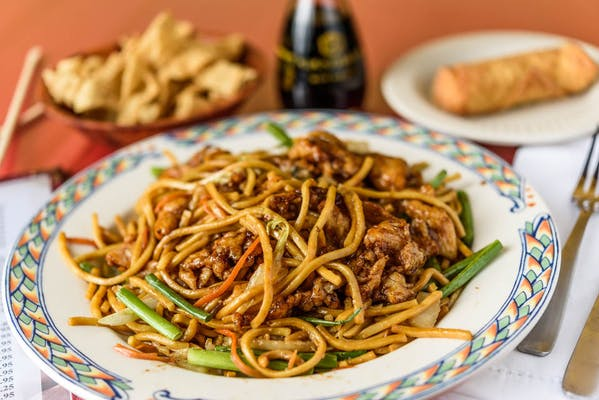 24. Chicken Lo Mein Lunch Special