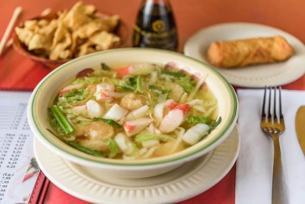 16A. Seafood Noodle Soup