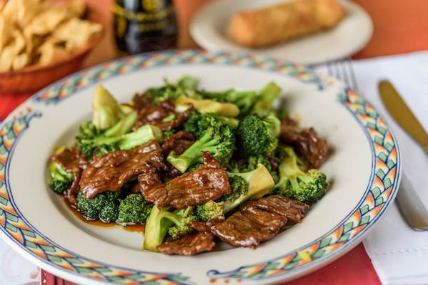 S5. Beef & Broccoli Combination Plate