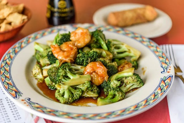 S11. Shrimp & Broccoli Combination Plate