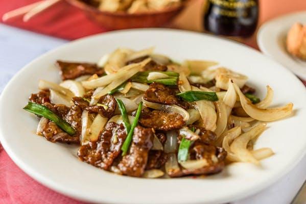"V9. Mongolian ""Beef"" (Vegetarian)"