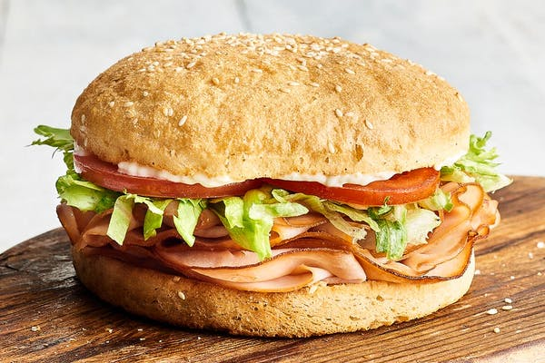Smoked Turkey Breast Sandwich