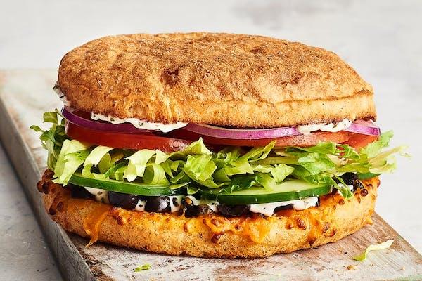 Fresh Veggie Sandwich (V)