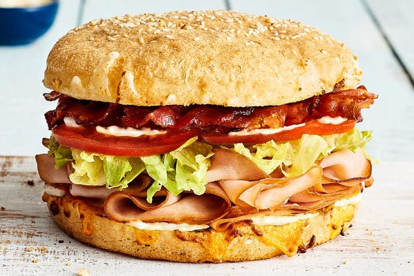 Turkey Bacon Club Sandwich