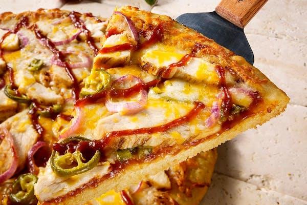 BBQ Chicken & Jalapeño Pizza