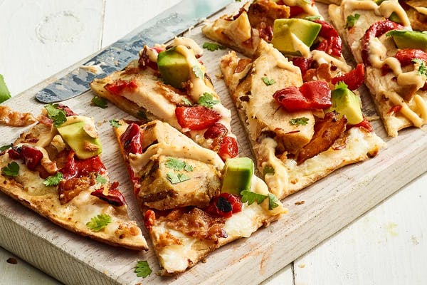 California Chicken Avocado Flatbread