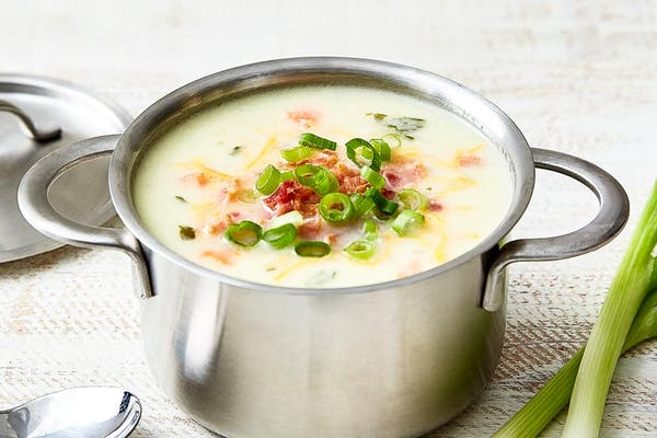 Loaded Baked Potato Soup Call for Daily Soup