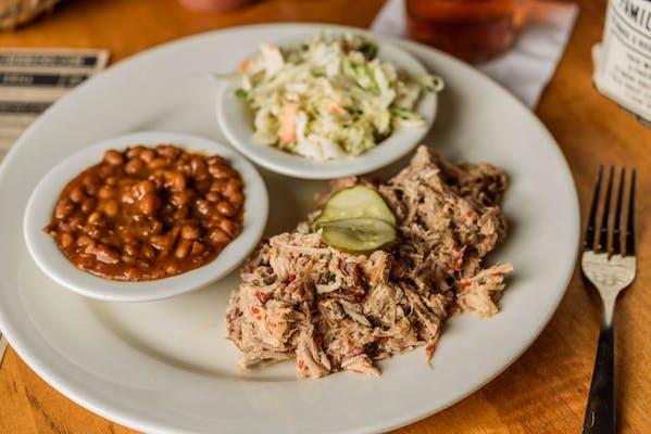Carolina-Style Pork Plate