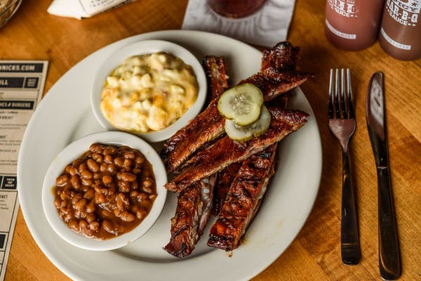 Classic Spare Ribs Plate