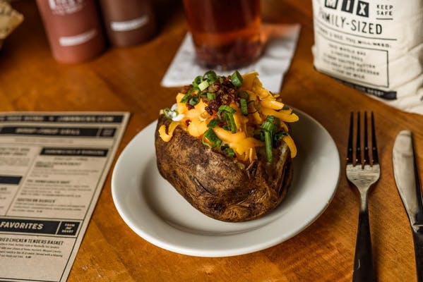 Not So Naked Baked Potato