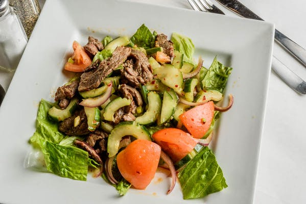 Spicy Beef Salad (Lunch)
