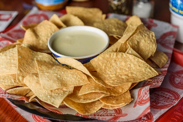 Homemade Chips & Queso