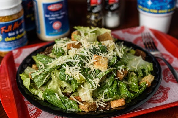 Caesar Salad with Grilled Tenders