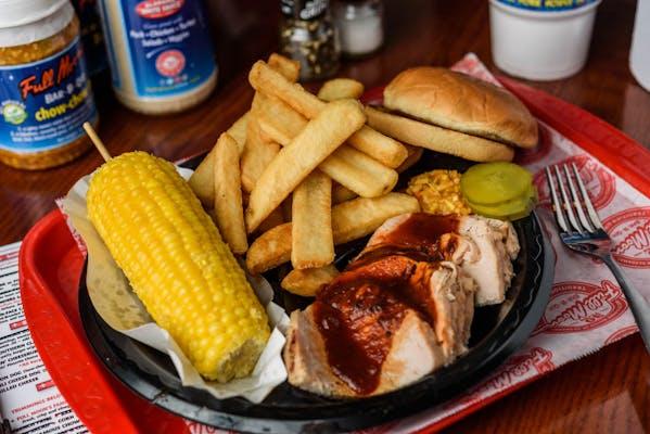 Hickory-Smoked Turkey Plate
