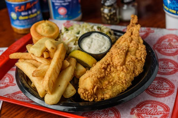 Southern Fried Catfish Plate