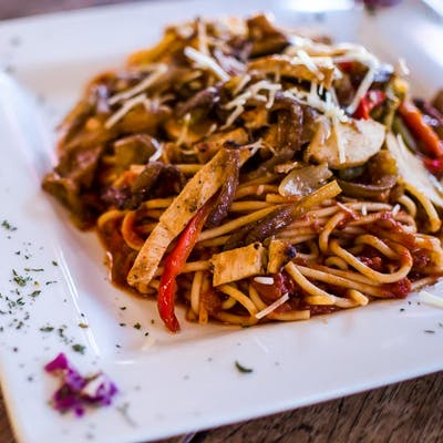 Mixed Grilled Pasta