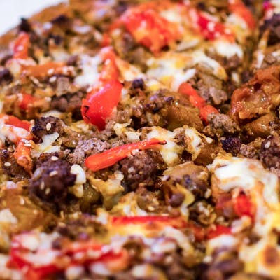 Low-Carb Special Pizza
