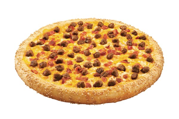 Bacon Cheddar Cheeseburger Specialty Pizza