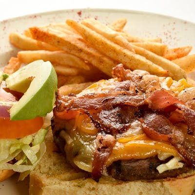 Agave Fiesta Burger (Lunch)