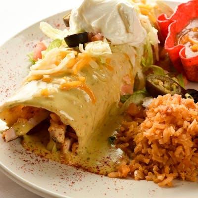 Extreme Burrito (Lunch)