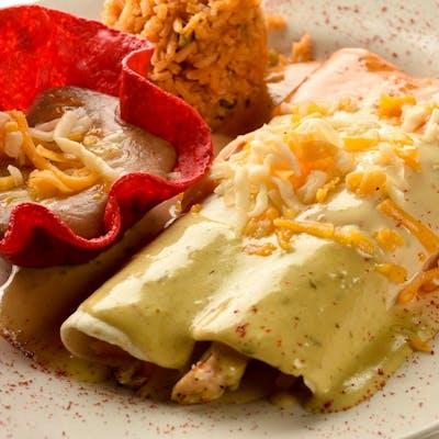 Enchiladas: Create Your Own Dish (Lunch)