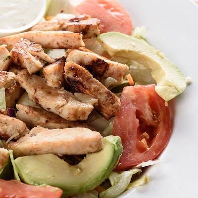 Grilled Chicken Fajita Salad
