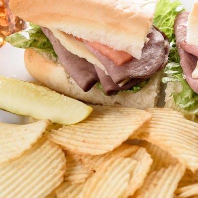 USDA Choice Roast Beef Sandwich