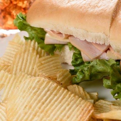 Mesquite-Smoked Turkey Sandwich