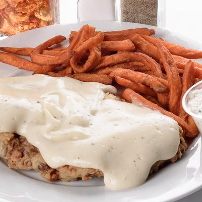 Lunch Chicken Fried Steak