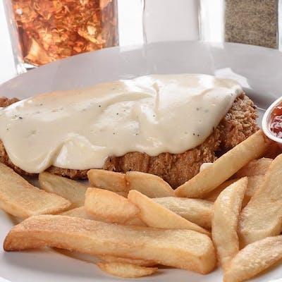 Lunch Chicken Fried Chicken