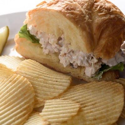 Kid's Half Croissant Sandwich
