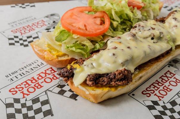 Bayou Burger PoBoy