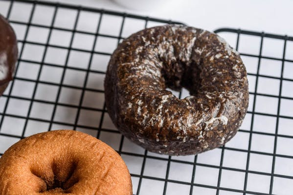Devil's Food Glazed Cake Donut