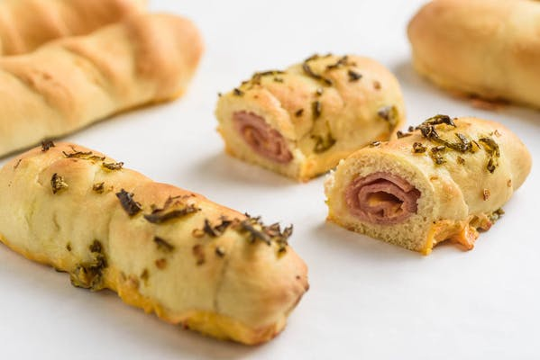 Ham, Cheese & Jalapeńo Kolache