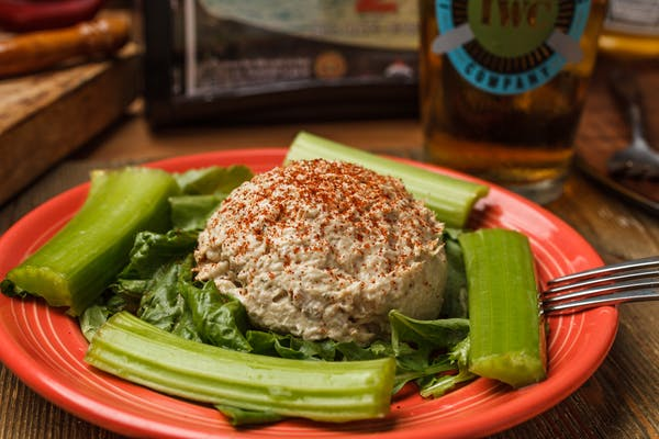 Spicy Smoked Yellowfin Tuna Dip