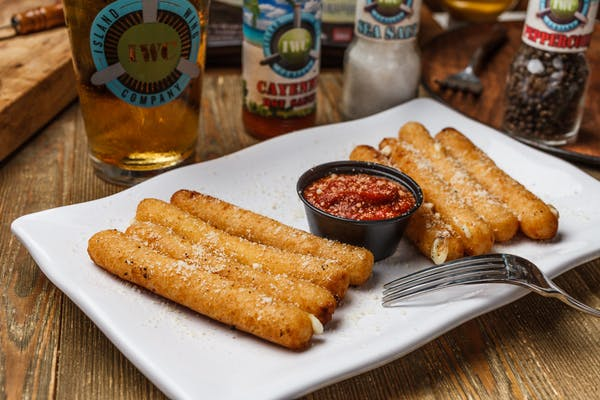 Beer Battered Mozzarella Sticks